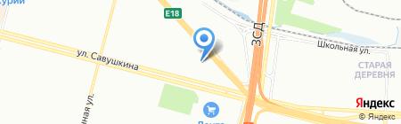 Родители и Дети на карте Санкт-Петербурга