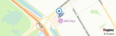 Авокадо на карте Санкт-Петербурга