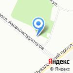 Гера на карте Санкт-Петербурга