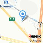 РоссТур на карте Санкт-Петербурга