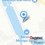 Гидросервис на карте Санкт-Петербурга