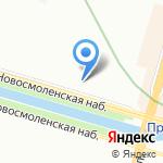 Larisa Glazirani на карте Санкт-Петербурга