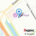Муниципальное образование округ Юнтолово на карте Санкт-Петербурга