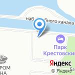 Локосфинкс на карте Санкт-Петербурга
