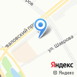 Бассейн на карте Санкт-Петербурга