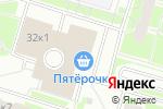 Схема проезда до компании Ивановский трикотаж в Санкт-Петербурге