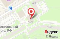 Схема проезда до компании Траут в Санкт-Петербурге