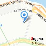 Средняя общеобразовательная школа №10 с углубленным изучением химии на карте Санкт-Петербурга