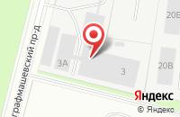 Схема проезда до компании Hefel в Санкт-Петербурге