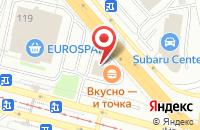 Схема проезда до компании Ингури в Санкт-Петербурге