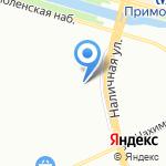 Стар-Сервис на карте Санкт-Петербурга