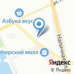 Санкт-Петербургский горный университет на карте Санкт-Петербурга