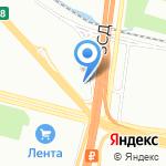 Субару ЦЕНТР Лахта на карте Санкт-Петербурга