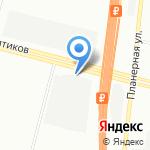 ЛенПриборМаш на карте Санкт-Петербурга