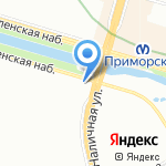Магазин религиозных товаров на карте Санкт-Петербурга