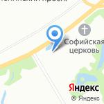 Дворец детского (юношеского) творчества Кировского района на карте Санкт-Петербурга