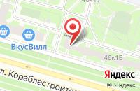 Схема проезда до компании Национальное Общество Имитационного Моделирования в Санкт-Петербурге
