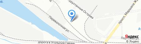 АкваКровДизайн на карте Санкт-Петербурга
