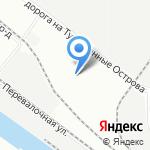 Конкорд на карте Санкт-Петербурга