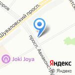 Fix Price на карте Санкт-Петербурга