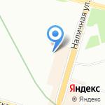 Мегавывоз на карте Санкт-Петербурга