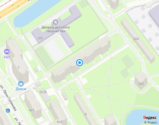 Жилищно-строительный кооператив «ЖСК-265» на карте Санкт-Петербурга