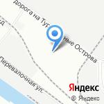 ГАТП-1020 на карте Санкт-Петербурга