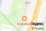 Схема проезда до компании Хамелеон в Санкт-Петербурге