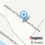 Специализированная стоянка для хранения задержанных транспортных средств на карте Санкт-Петербурга