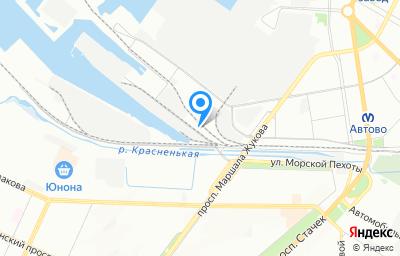 Местоположение на карте пункта техосмотра по адресу г Санкт-Петербург, дор На Турухтанные острова, д 18 к 4 литер а
