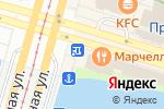 Схема проезда до компании Две палочки в Санкт-Петербурге