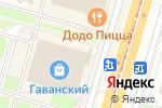 Схема проезда до компании Мир рубашек в Санкт-Петербурге