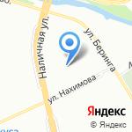 Беседа на карте Санкт-Петербурга