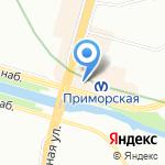 Банк Советский на карте Санкт-Петербурга