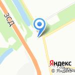 Коралл на карте Санкт-Петербурга