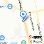 Лаура на карте Санкт-Петербурга