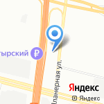 Магистраль северной столицы на карте Санкт-Петербурга