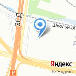Приморское на карте Санкт-Петербурга