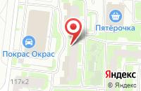 Схема проезда до компании Нэтиз в Санкт-Петербурге