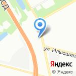 Автошоп на карте Санкт-Петербурга