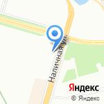 АБК на карте Санкт-Петербурга