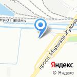 Шаверма №1 на карте Санкт-Петербурга