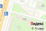 Схема проезда до компании Н49 в Санкт-Петербурге