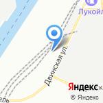 Пилон на карте Санкт-Петербурга