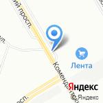 Грузинская пекарня на карте Санкт-Петербурга