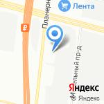 Гранд Авто на карте Санкт-Петербурга
