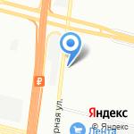 Нанэ на карте Санкт-Петербурга