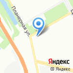 ЭНЕРЖИ на карте Санкт-Петербурга