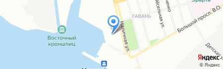 Легион на карте Санкт-Петербурга