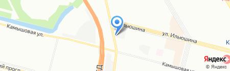 Шиномонтажная мастерская на Планерной на карте Санкт-Петербурга